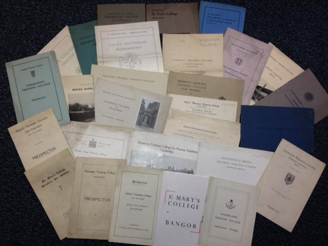 1930s Prospectuses of Teacher Training Colleges