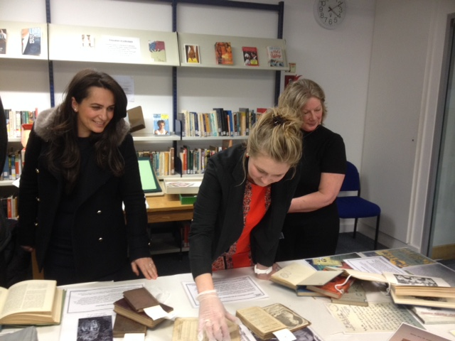 UCL Academy's visit to the UCL Institute of Education Library (2/2)