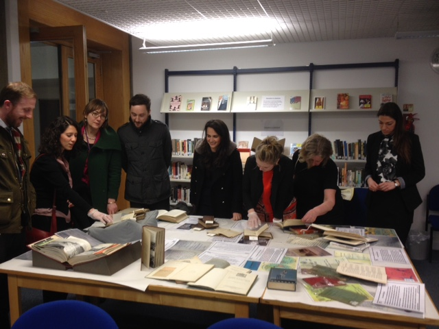 UCL Academy's visit to the UCL Institute of Education Library (1/2)