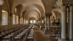 Maulbronn Monastery, site of the college in the book. Photograph by Harro52 from Wikipedia.