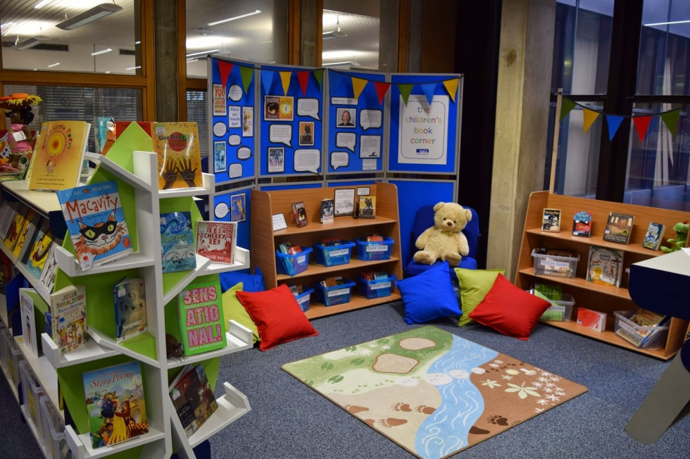 S. F. Said writes about the opening of the Children's Book Corner in the Newsam Library at UCL IOE (3/4)