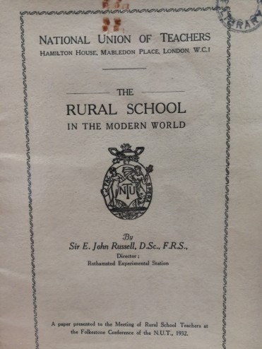 Rural school in the modern world