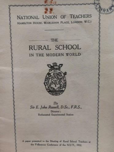 Rural school in the modern world