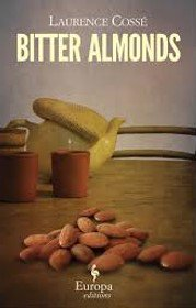 Book cover: Photograph of almonds on a table.