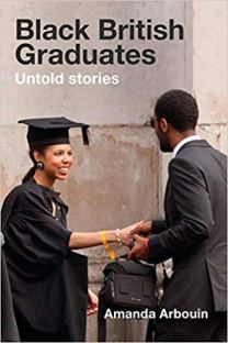 Book cover: Photograph of black woman graduating.