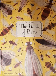 Book cover: quirky drawing of bees.