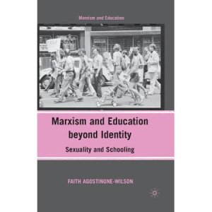 Book cover: Black and white photograph of demonstration in the Sixties or Seventies; black and pink design.