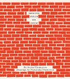 Book cover looking like a wall of bright red bricks.