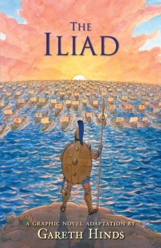 Book cover - Graphic novels - Iliad by Hinds.