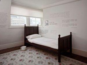Servants' quarters, attic, at 48 Doughty Street