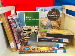 'Great expectations' and 'Hard times' in various formats plus study guides.
