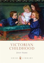 Book cover with painting of four young children in fine clothes playing with toy bricks.